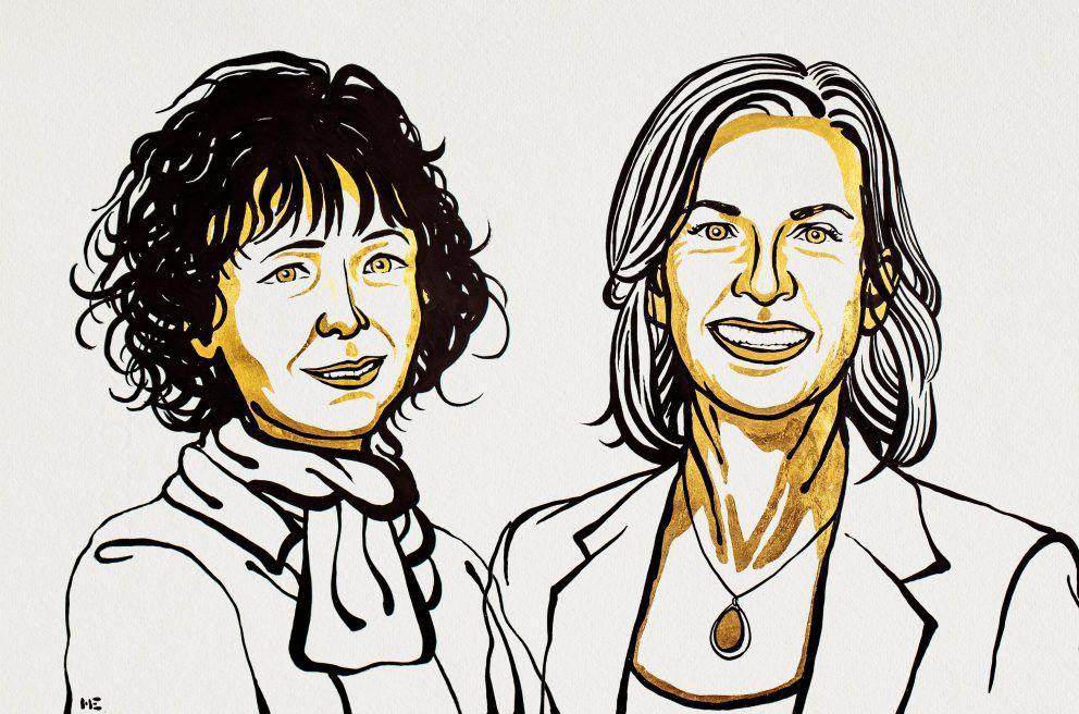 دوو ژن، براوەی خەڵاتی نۆبڵی ساڵی ۲۰۲۰ لە بەشی کیمیا