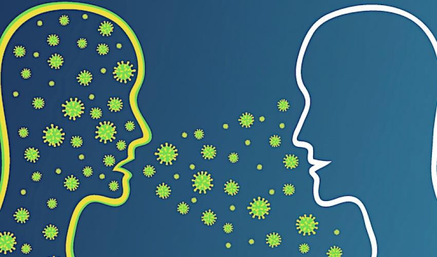 مانەوەی ٨ کاتژمێریی ڤایرۆسی کۆرۆنا لە هەوادا ڕاستە؟