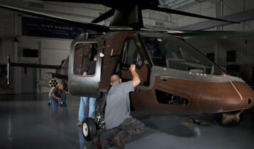 هێلیکۆپتەری Sikorsky s97 Raider