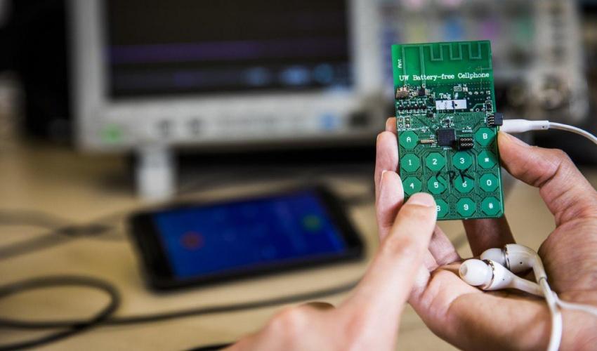 دروستکردنی مۆبایلی بێ باتری